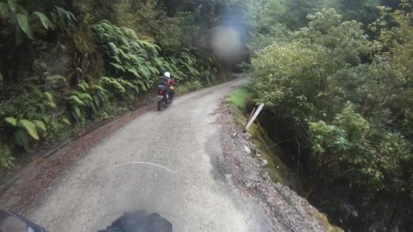 The road to Waiuta Historic Mine Site