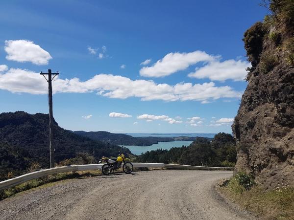 Views from Whatipu Road towards the Manukau Heads