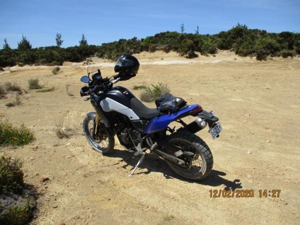 In the quarry off Kaweka Road