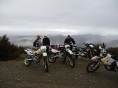 Riders at the Quarry off Kaweka Road