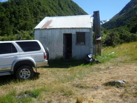 Fang Creek hut