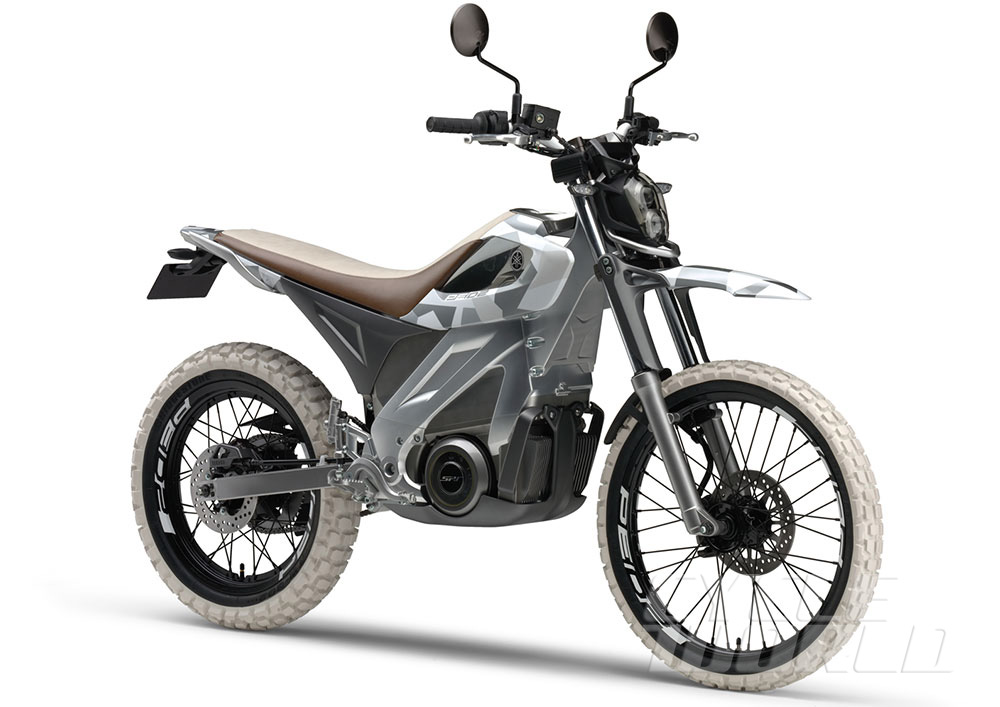 Yamaha Ped2 Electric Motorcycle Concept Jpg
