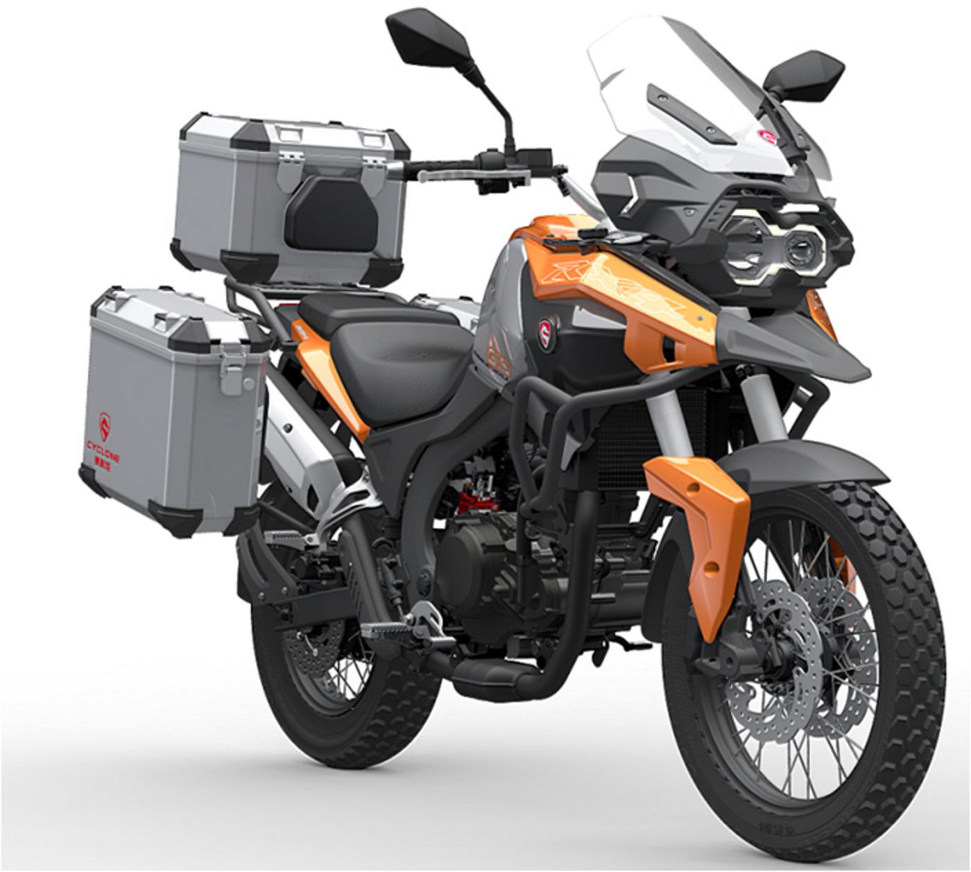 Topic Zongshen Rx4 450cc Single Adventure Tourer