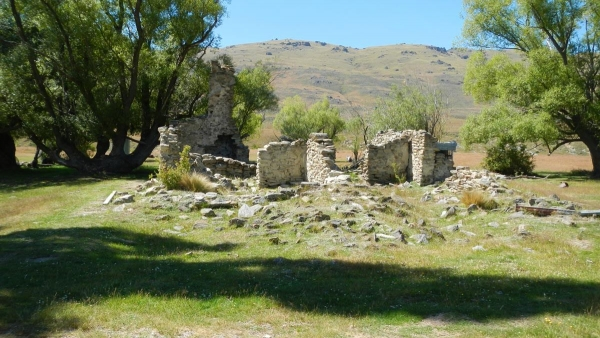 Ruins on The Nevis