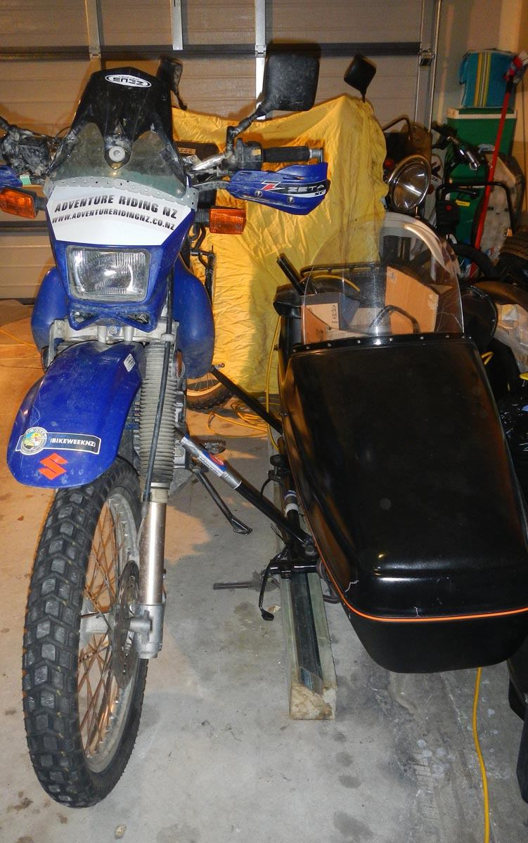 Dr650 outback touring sidecar. | Page 2 | Adventure Rider