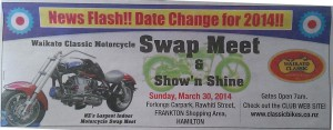 Hamilton Classic Motorcycle swap meet